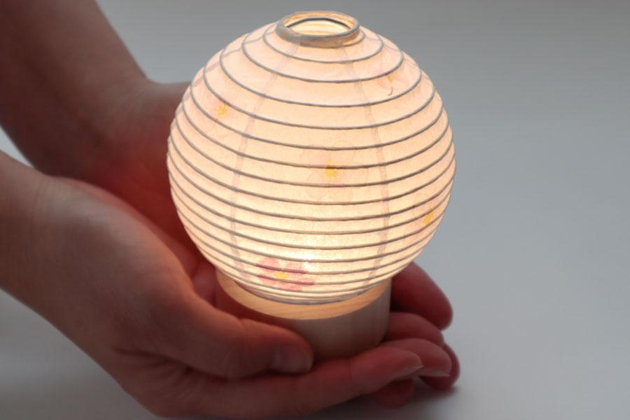 盆提灯 桜 かわいい ミニ提灯 ペット盆提灯